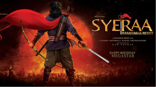 Who is the music director for Chiru's Sye Raa?