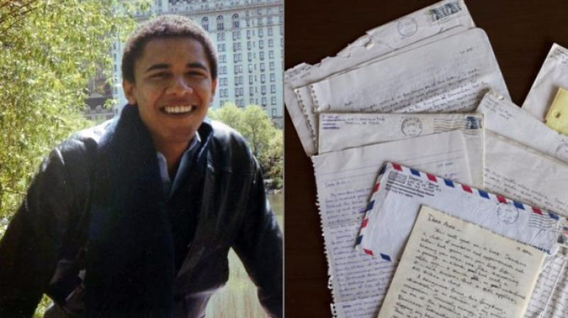 Obama's letters to ex-girlfriend are being made public