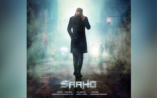 Saaho first look poster copied from Blade Runner?